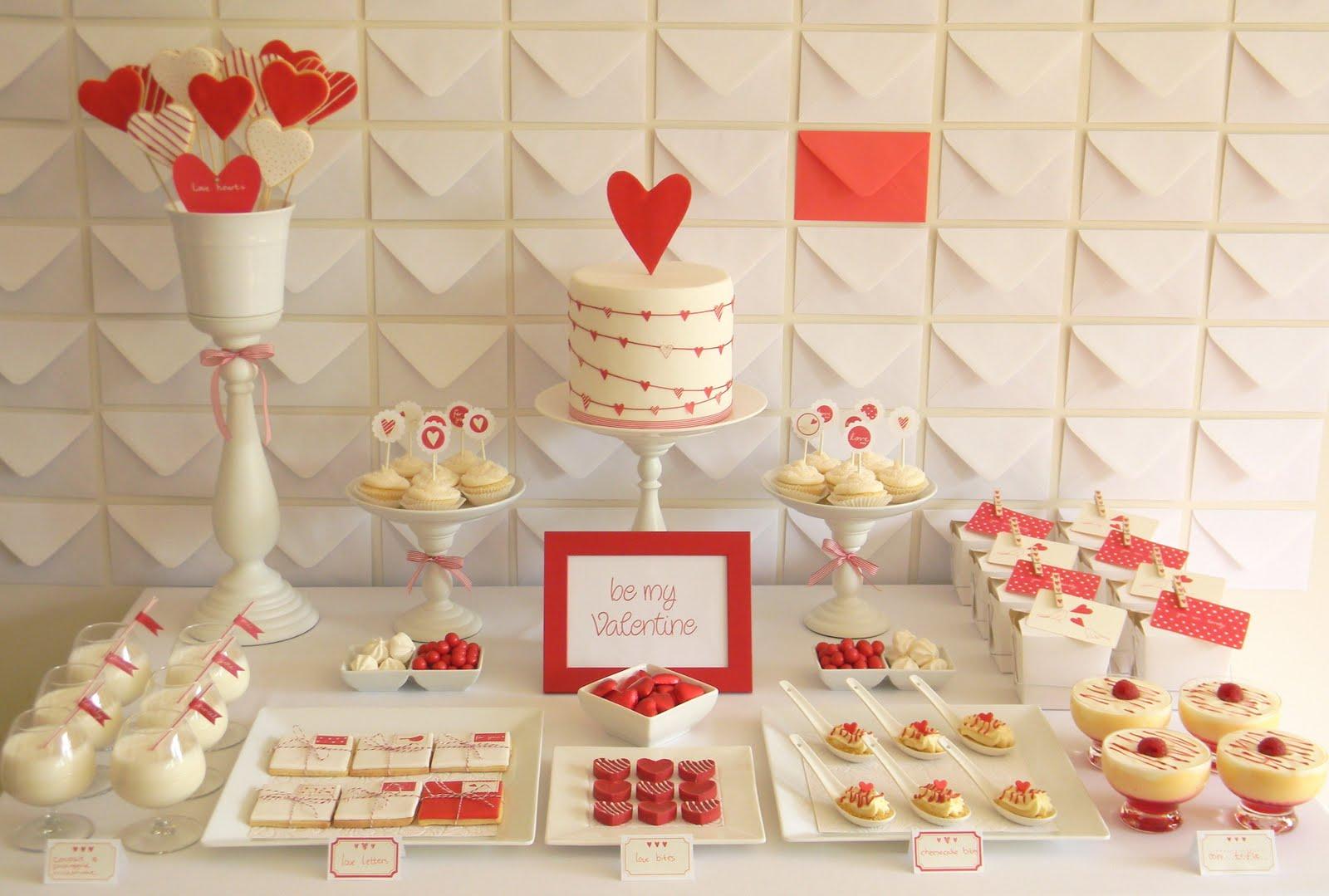 Mesa dulce de San Valentín | Fiesta Dulce