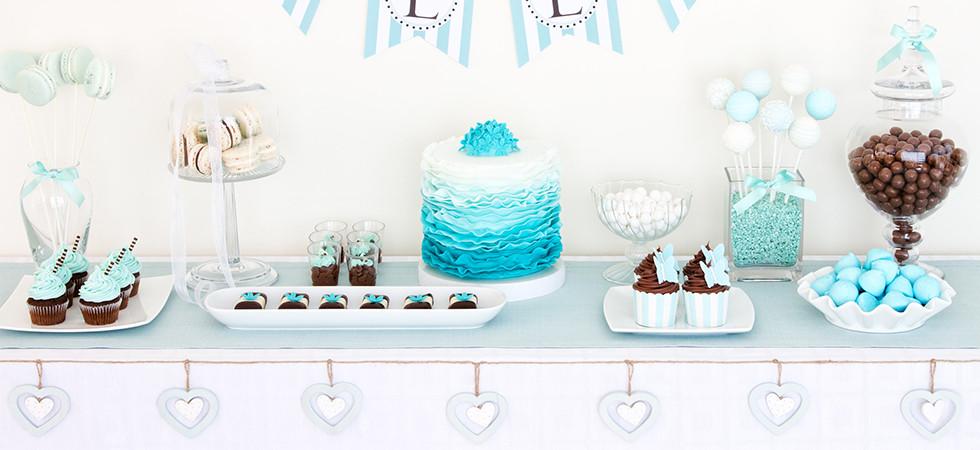Mesa dulce celeste - Fiesta dulce