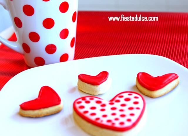 galletas corazon Fiesta Dulce